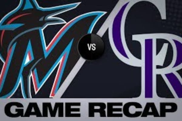 McMahon, Rockies rout Marlins, 11-4 | Marlins-Rockies Game Highlights 8/17/19