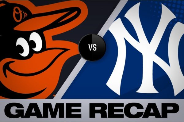 Sanchez homers as Yanks sweep the O's | Orioles-Yankees Game Highlights 8/14/19